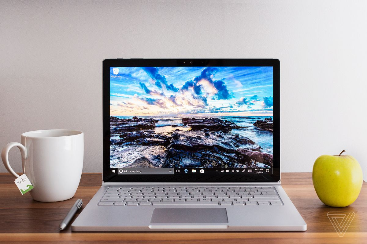 microsoft 39 s surface book 2 could be a regular laptop and arrive next month the verge. Black Bedroom Furniture Sets. Home Design Ideas