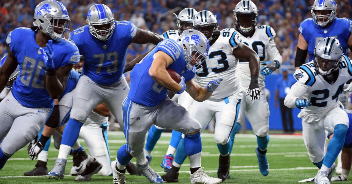 Lions vs. Panthers: Live score updates, highlights, more
