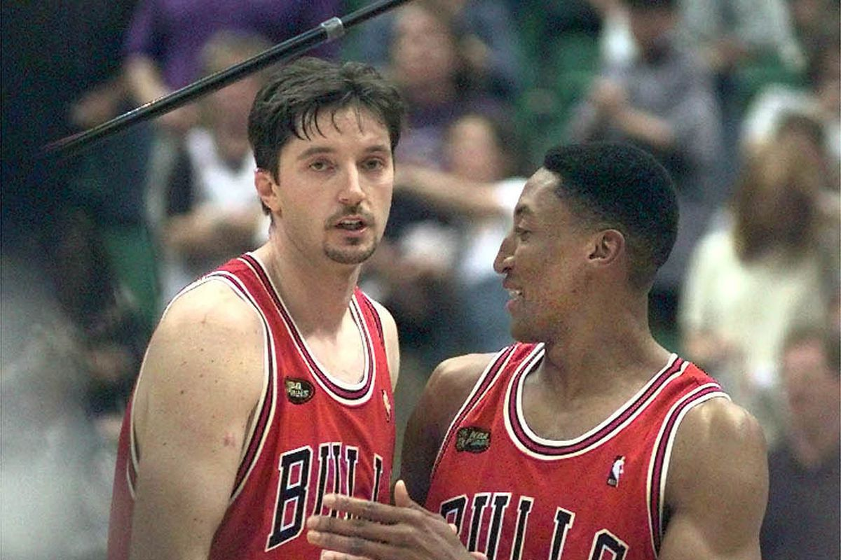 """""""In that situation there was a lot of pressure,"""" Scottie Pippen said. """"We were down 2-0 in the series; I wanted to be a threat. Whether I was taking the shot or not, I didn't feel like I should be the one obligated to take the ball out."""""""