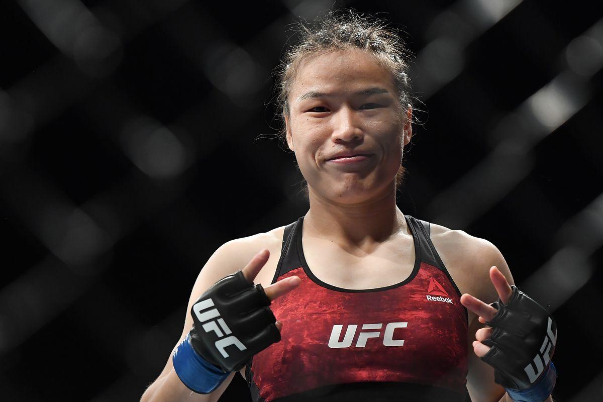 UFC Fight Night Andrade v Zhang