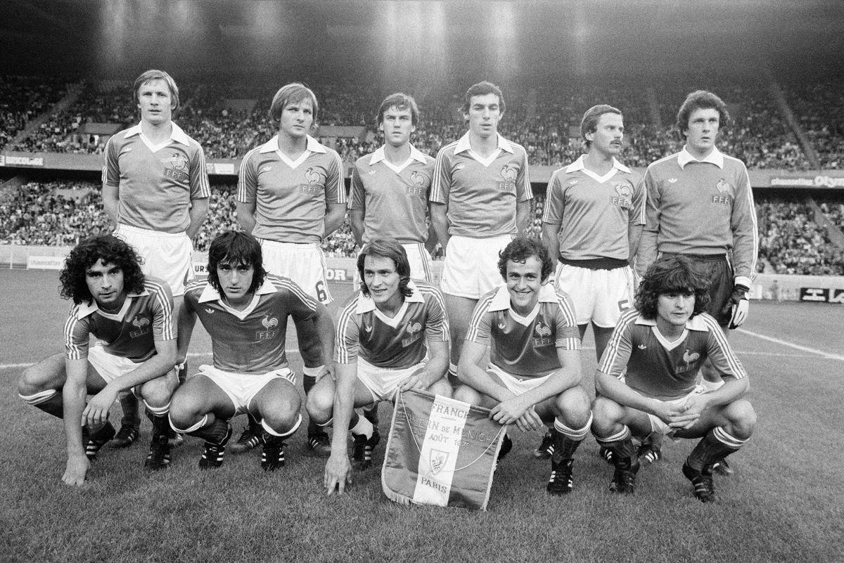 L'équipe de France de football en 1979