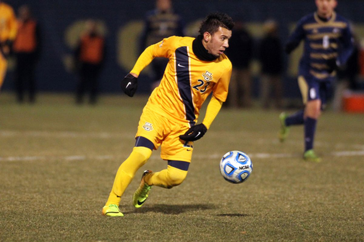 Coco Navarro and Marquette need three points and some help to make it into the Big East tournament this season.