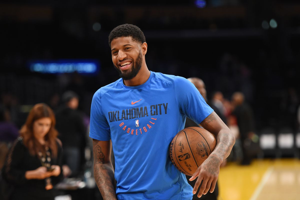 Paul George: Paul George Can't Stop Flirting With The Lakers