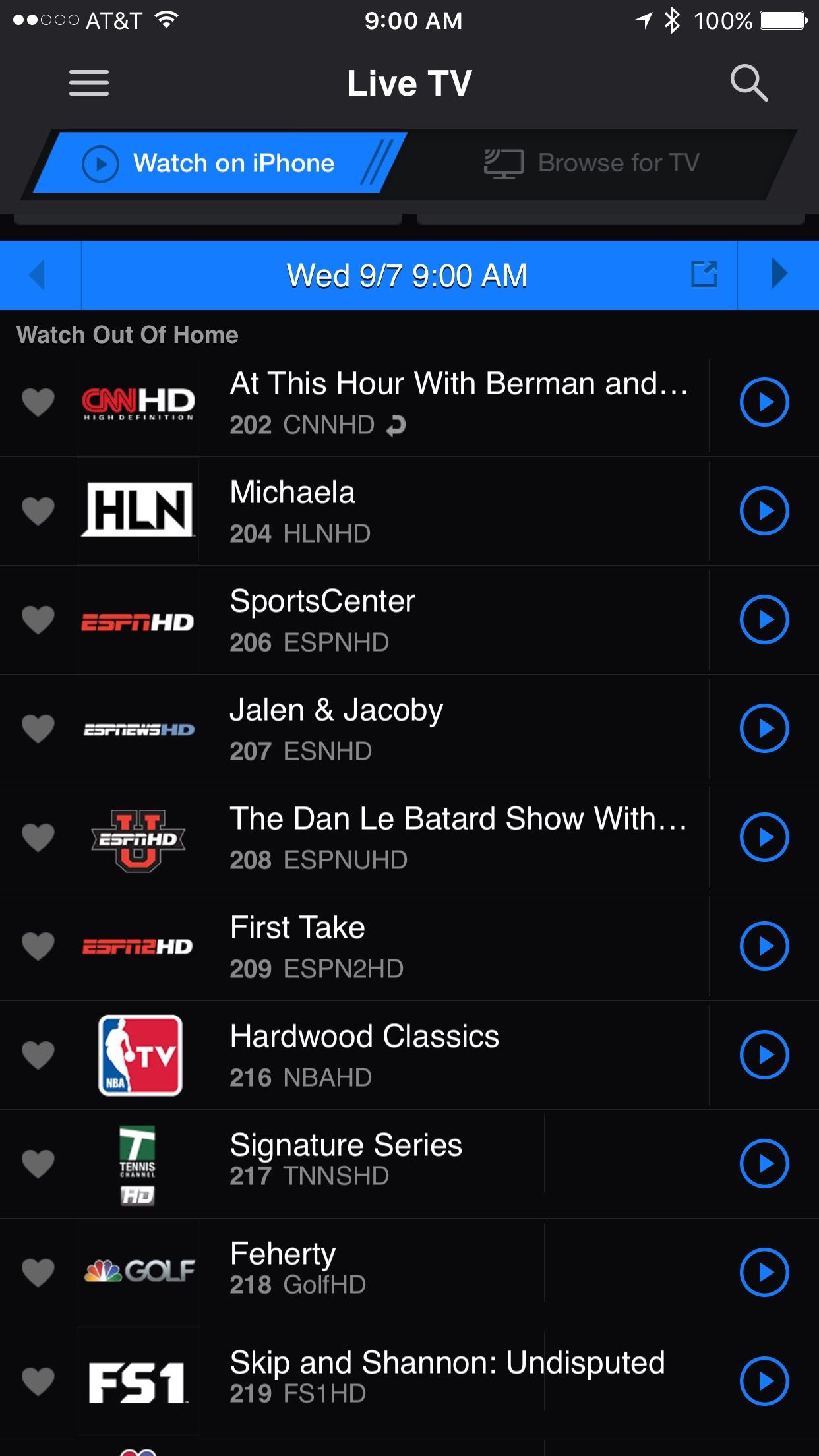 DirecTV expands live mobile streaming to include nearly all channels