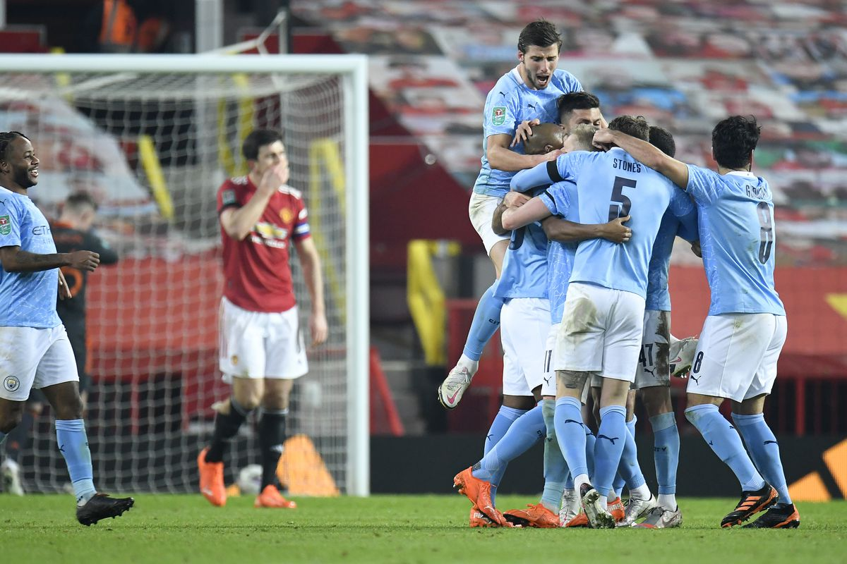 Manchester United 0-2 Manchester City: Reds slump to deserved defeat in Carabao Cup semifinal - The Busby Babe