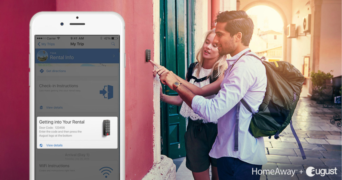 August / HomeAway integration