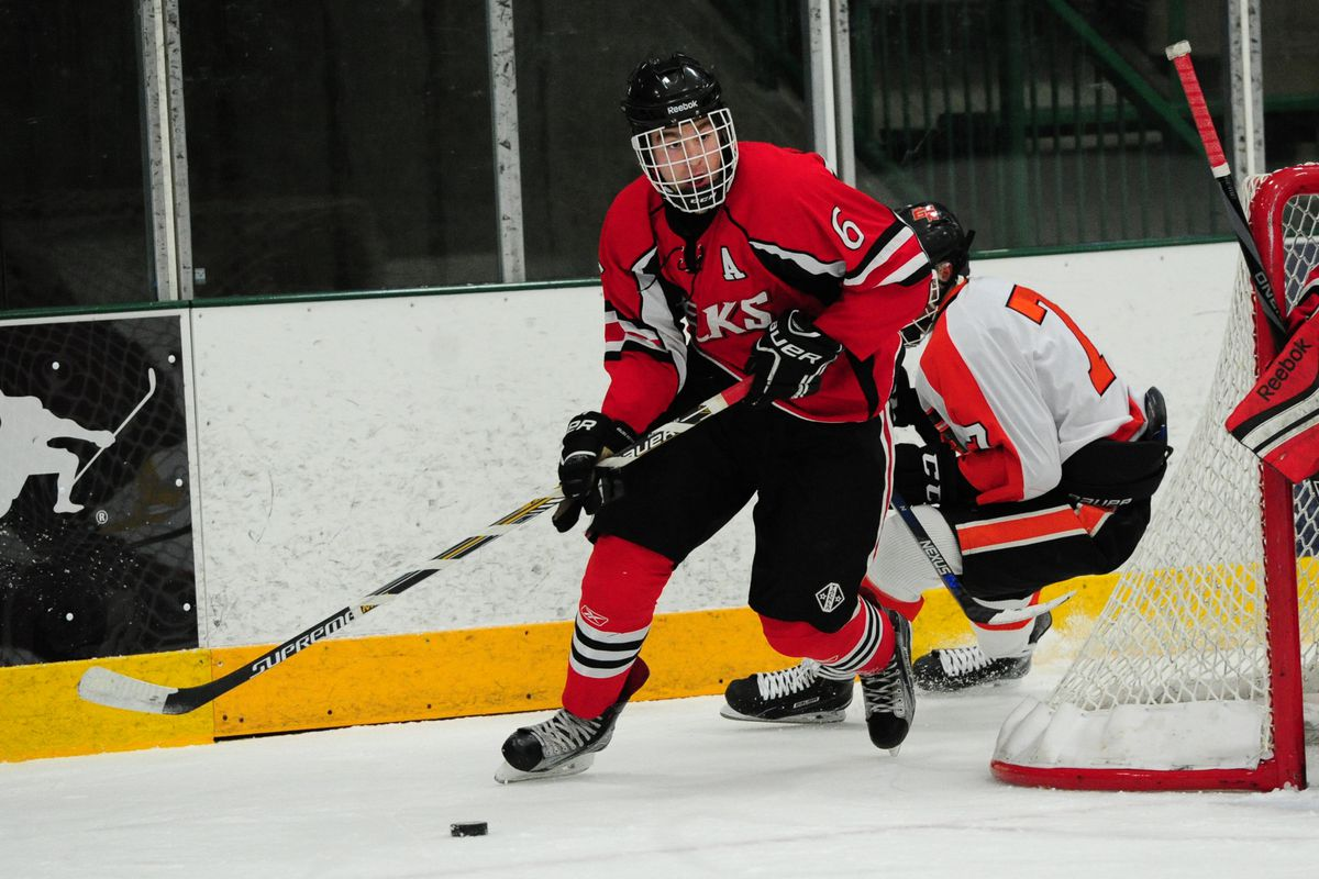 2017 draft profiles tampa bay lightnings newest prospects nick edina mn elk river elks defenseman nick perbix skates the puck against the grand rapids thunderhawks during a prep hockey game at braemar ice arena in geenschuldenfo Image collections