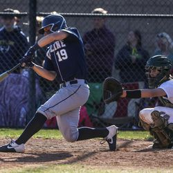 Olympus and Skyline face off in a baseball game at Olympus High School in Holladay on Thursday, April 22, 2021.