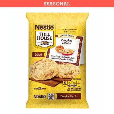 Nestle Toll House Pumpkin Cobbler cookie dough
