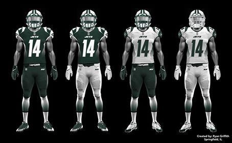 separation shoes 0c6cf f8b85 New Jets uniforms designed by fans of the team - Gang Green ...