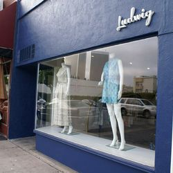 Ludwig boutique is located at 9909 Santa Monica Blvd in Beverly Hills.