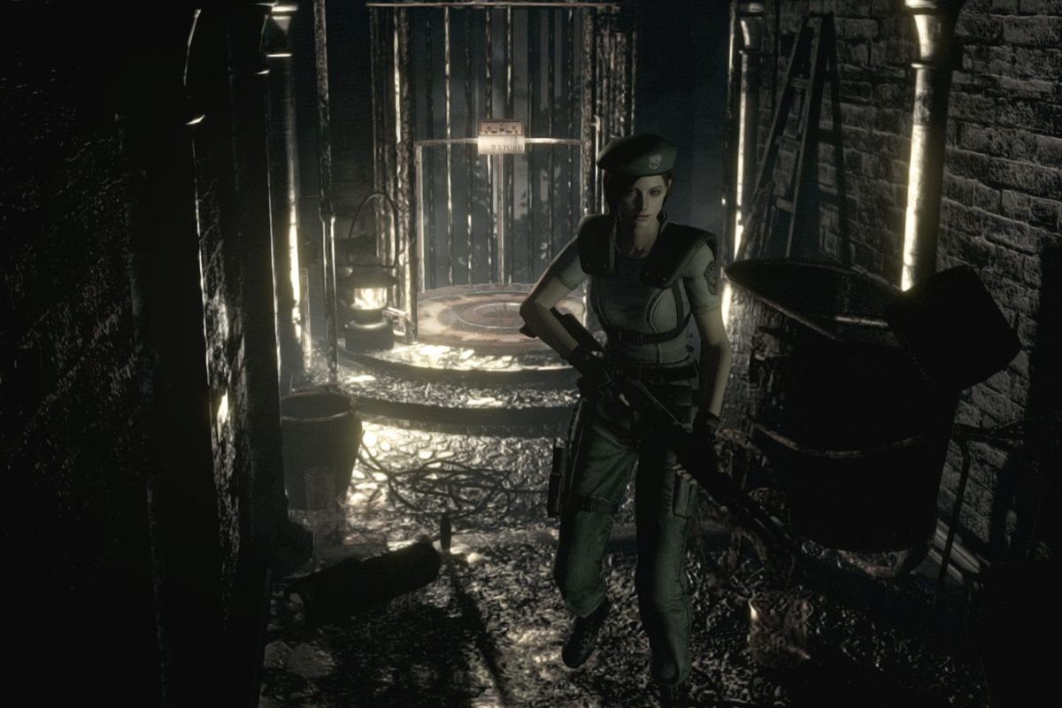 Resident Evil HD remaster is cross-buy on PS3 and PS4, but