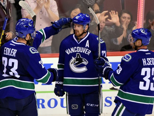 The Vancouver Canucks look to build upon a 101 point season in 2014-15. (Courtesy of