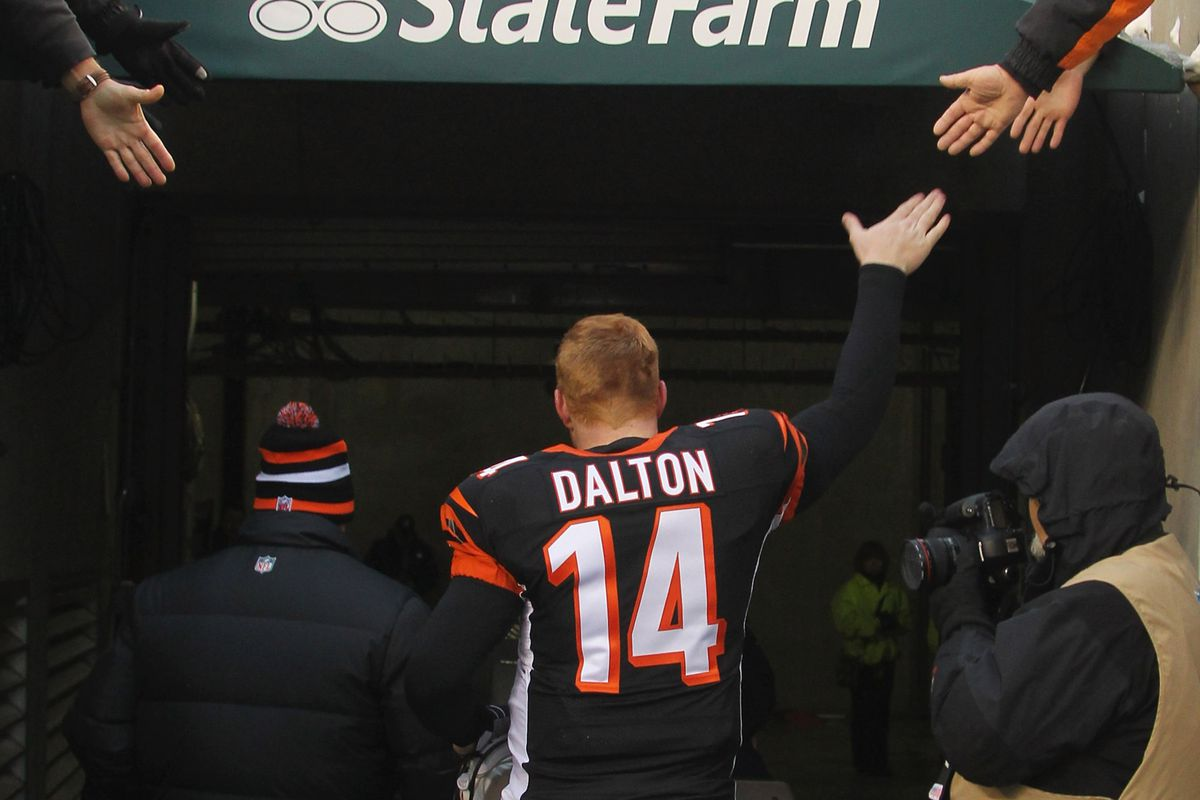 Colts vs. Bengals 2013  Andy Dalton throws 4 TDs to win 3rd straight game a24b0ae56