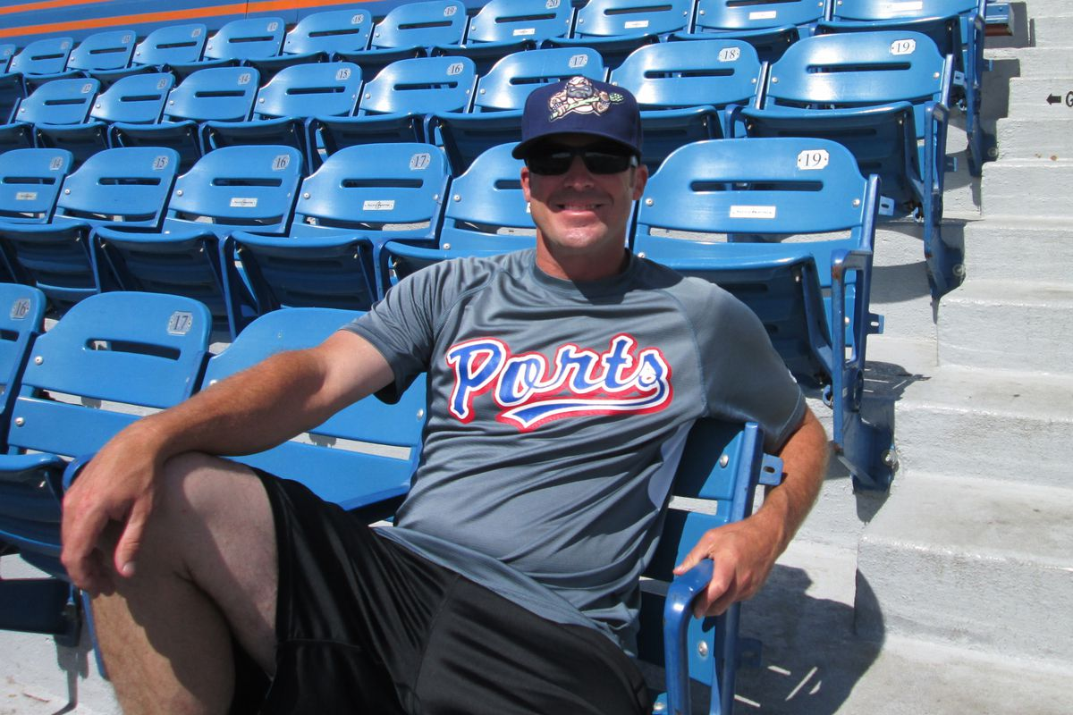 Ryan Christenson is cool being in the minor league grind again.
