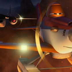 """Dusty shifts gears to join a firefighting aircraft team in """"Planes: Fire & Rescue."""""""