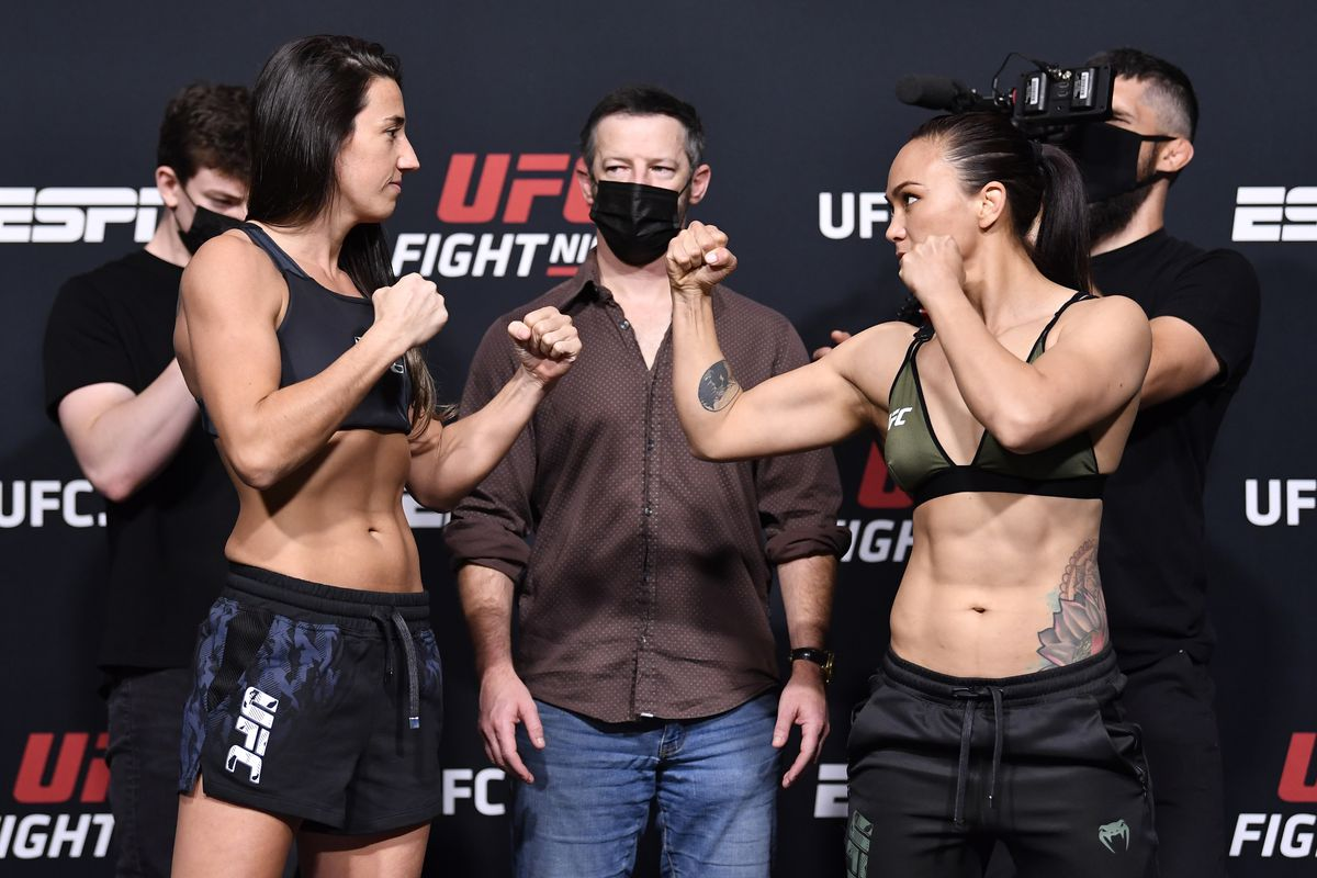 UFC Fight Night: Rodriguez v Waterson Weigh-in