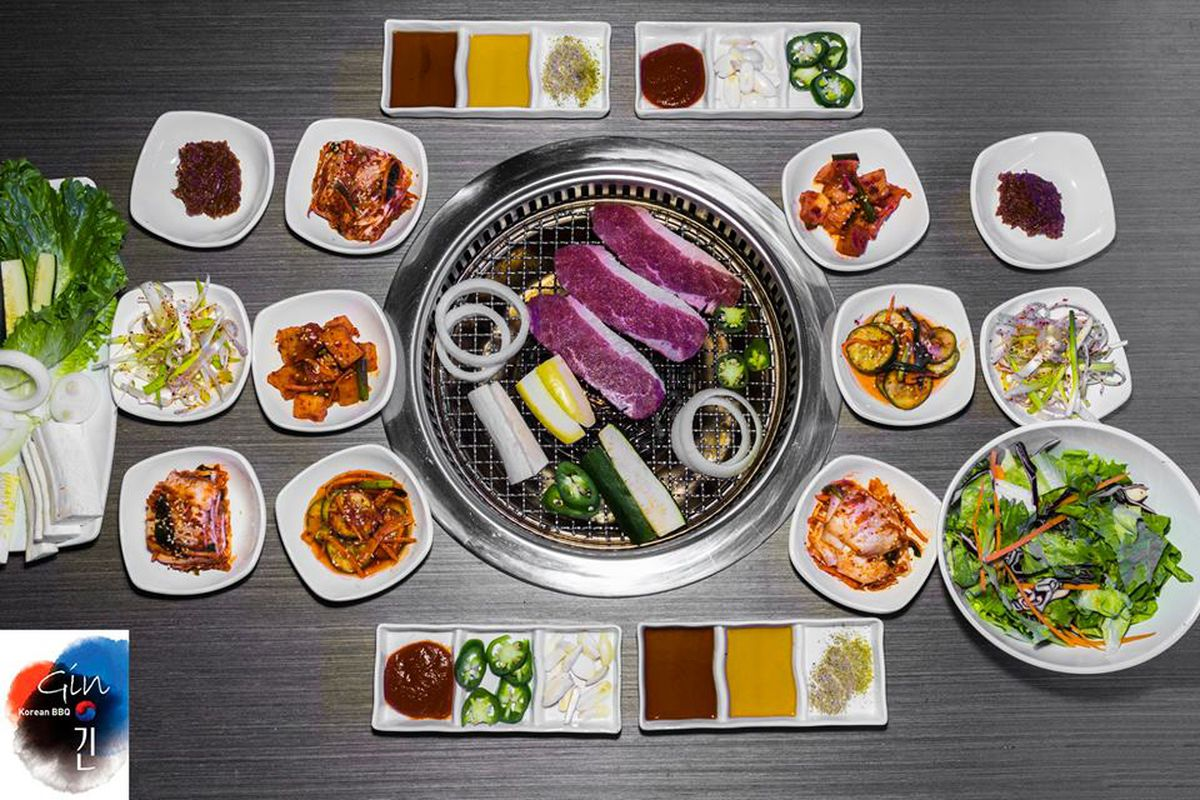 Gin Swings Open In Fat City With Diy Korean Barbecue