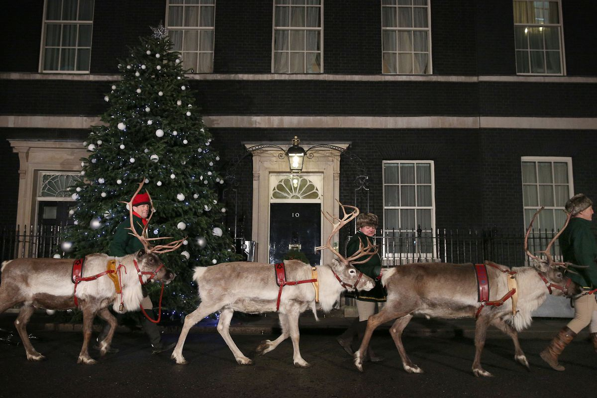The Annual Downing Street Children's Christmas Party