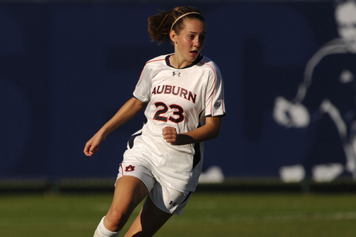 <strong>Auburn Junior Katy Frierson is one of the top college soccer players in the nation.</strong>