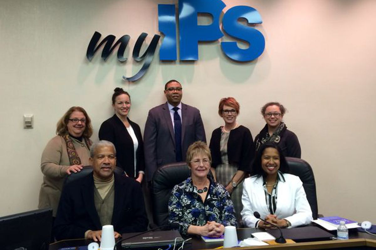 Three new members joined the Indianapolis Public School Board tonight. Longtime member Diane Arnold was unanimously elected as president.