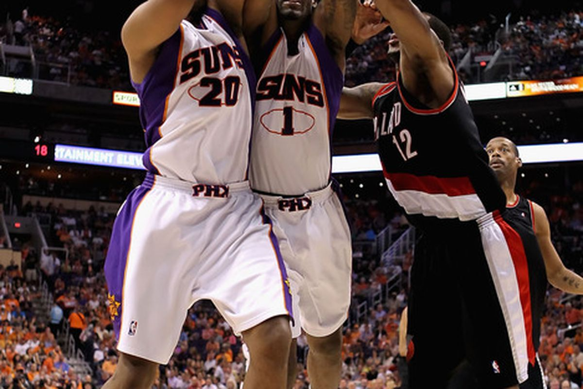 The Suns appear to have the upper hand but the Blazers are still in there.  Who will come out ahead?