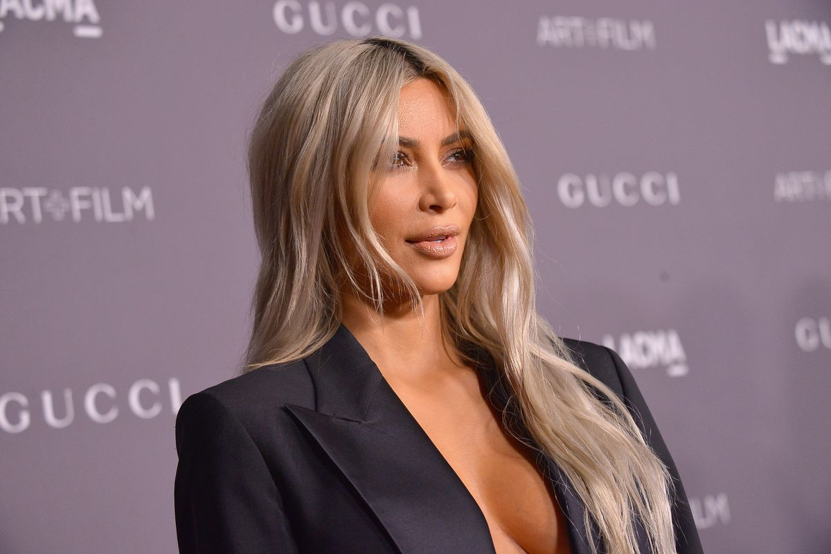 Why Kim Kardashian Dyed Her Hair Pink Leads Today's Star Sightings