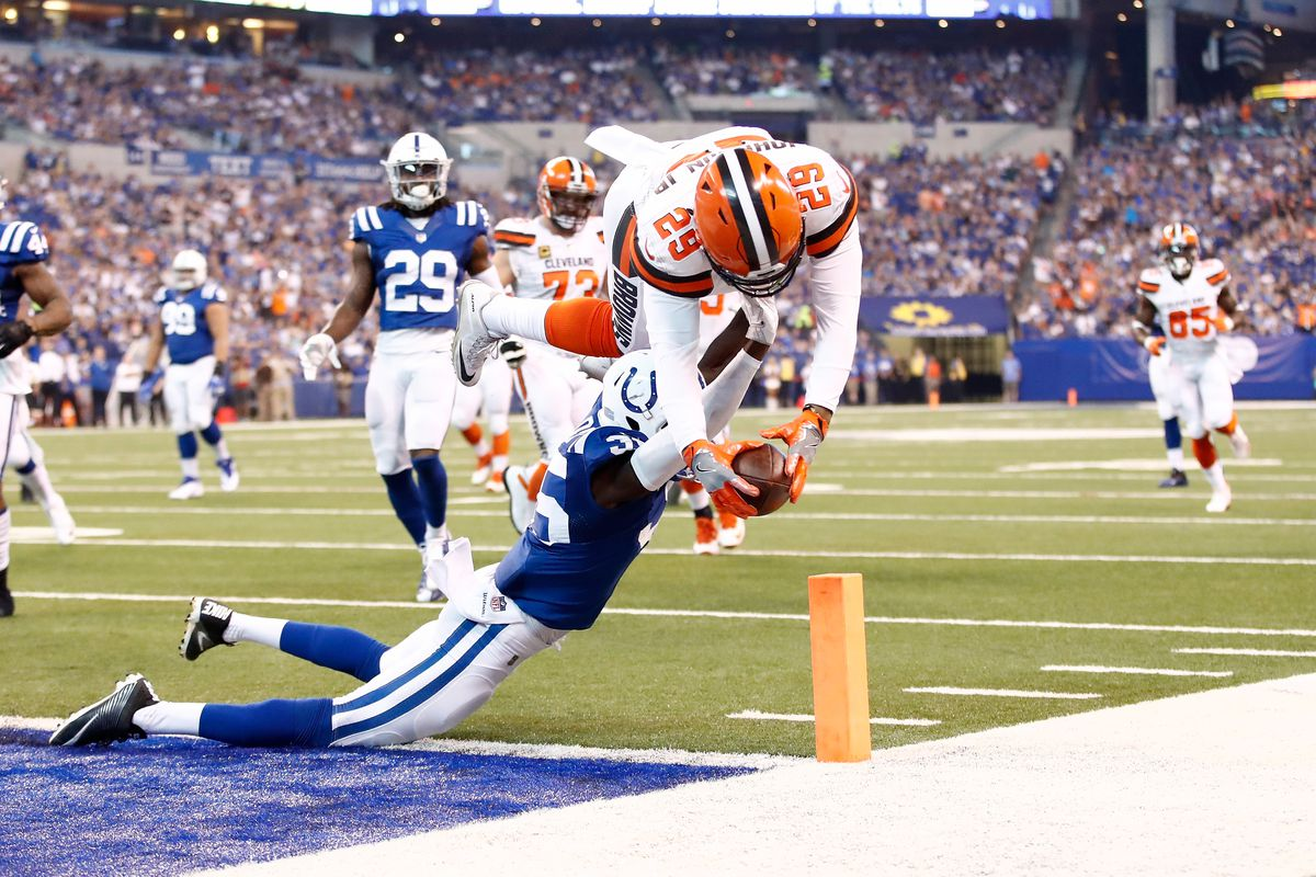 347766ec Browns-Colts Final Score: Cleveland unable to overcome first half ...