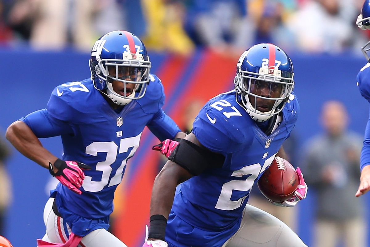 Stevie Brown has become a turnover magnet for the Giants.