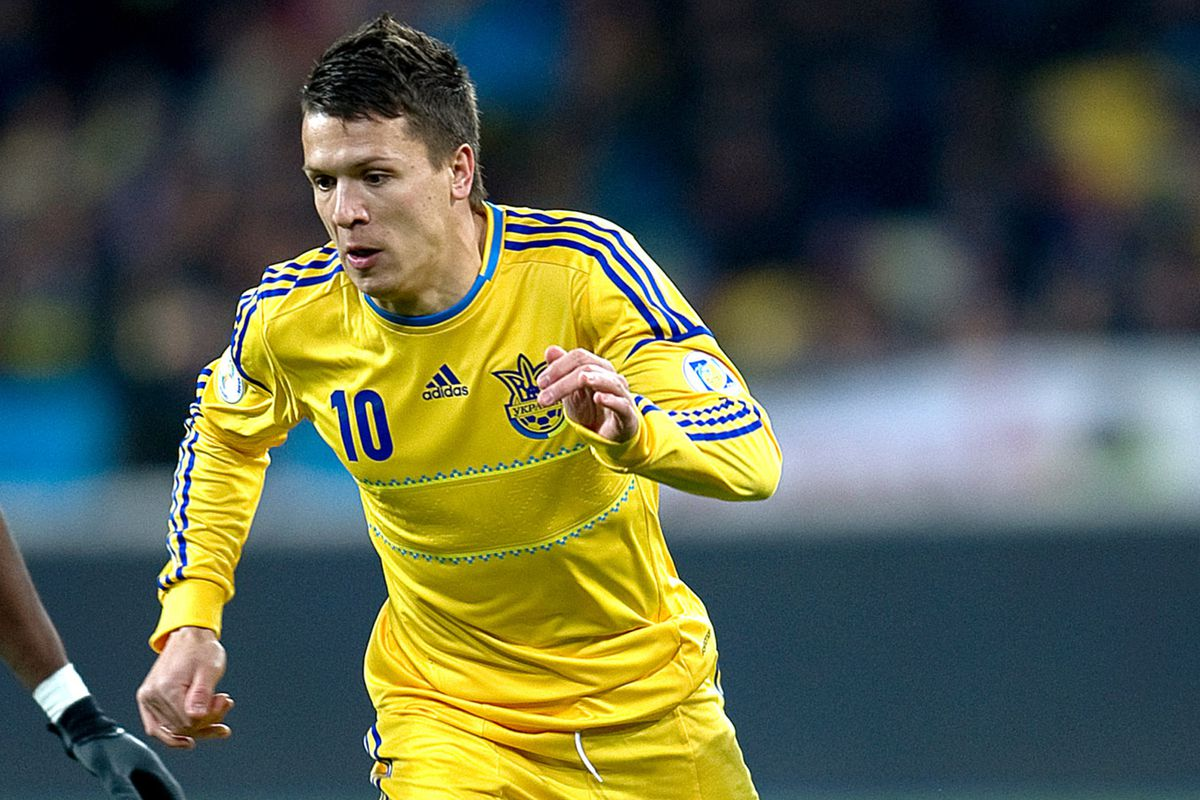 Watch Yevhen Konoplyanka v England The Liverpool fside