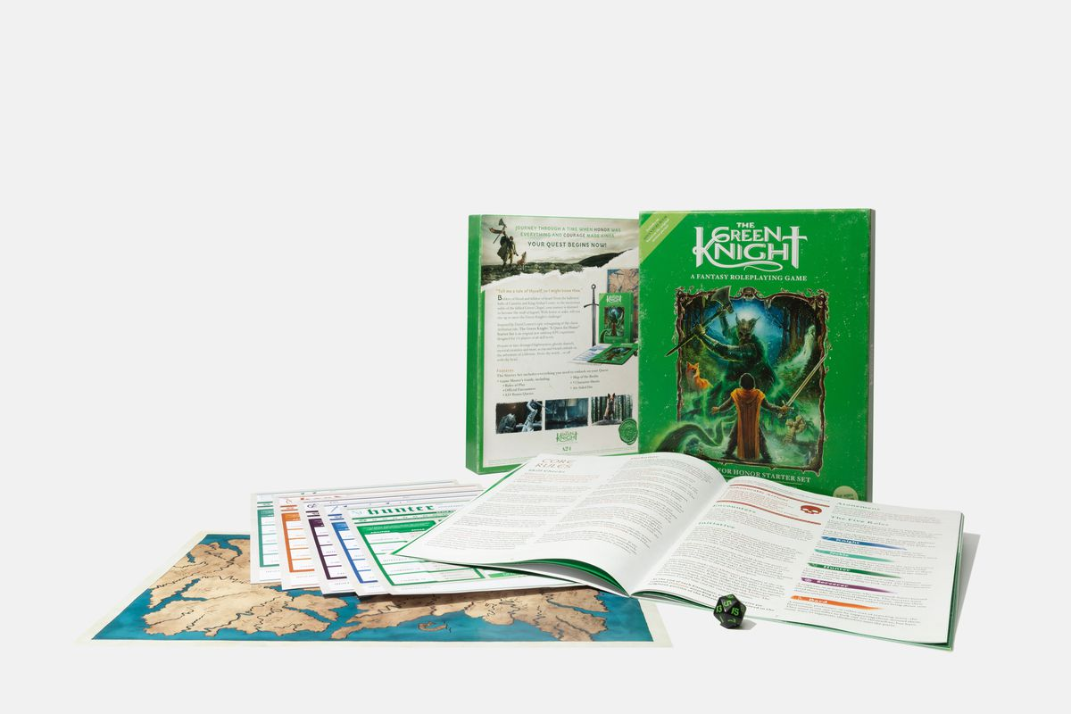 the green knight board game