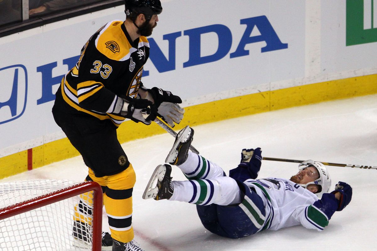 All non-Canuck fans hope this picture is a metaphor for the outcome of this series.
