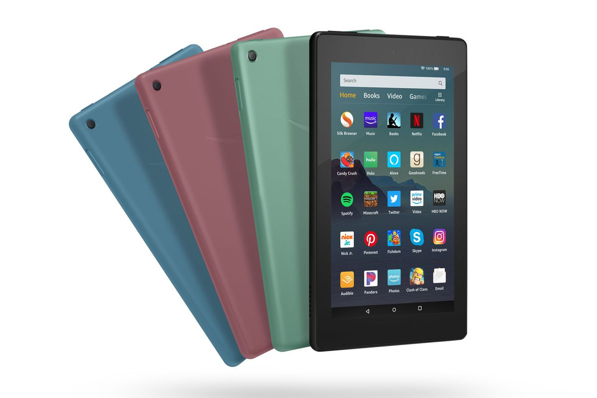 Amazon gives its Fire 7 tablets more storage and speed for