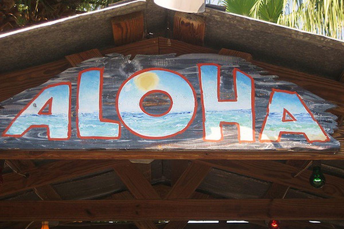 Hula Hut.