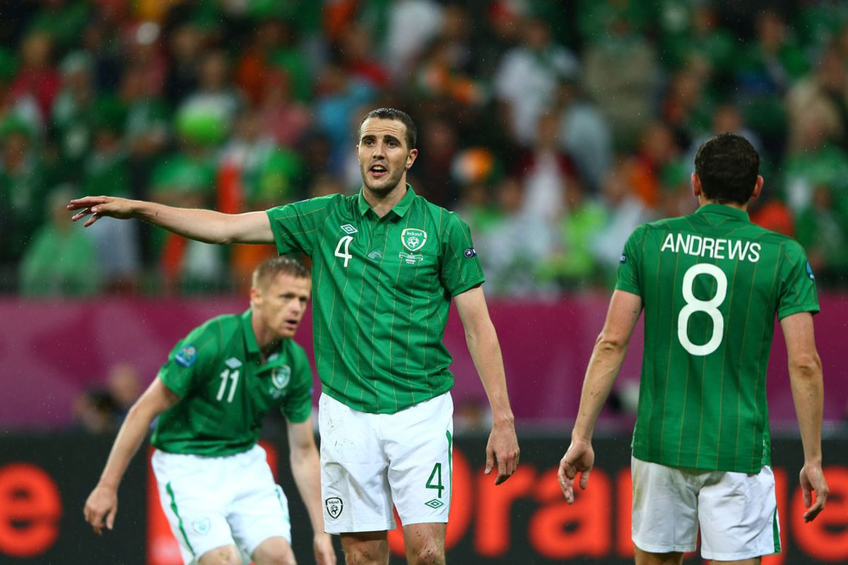 John O'Shea was the only Sunderland player in action last night. Much to the chagrin of Ireland and Sunderland supporters.