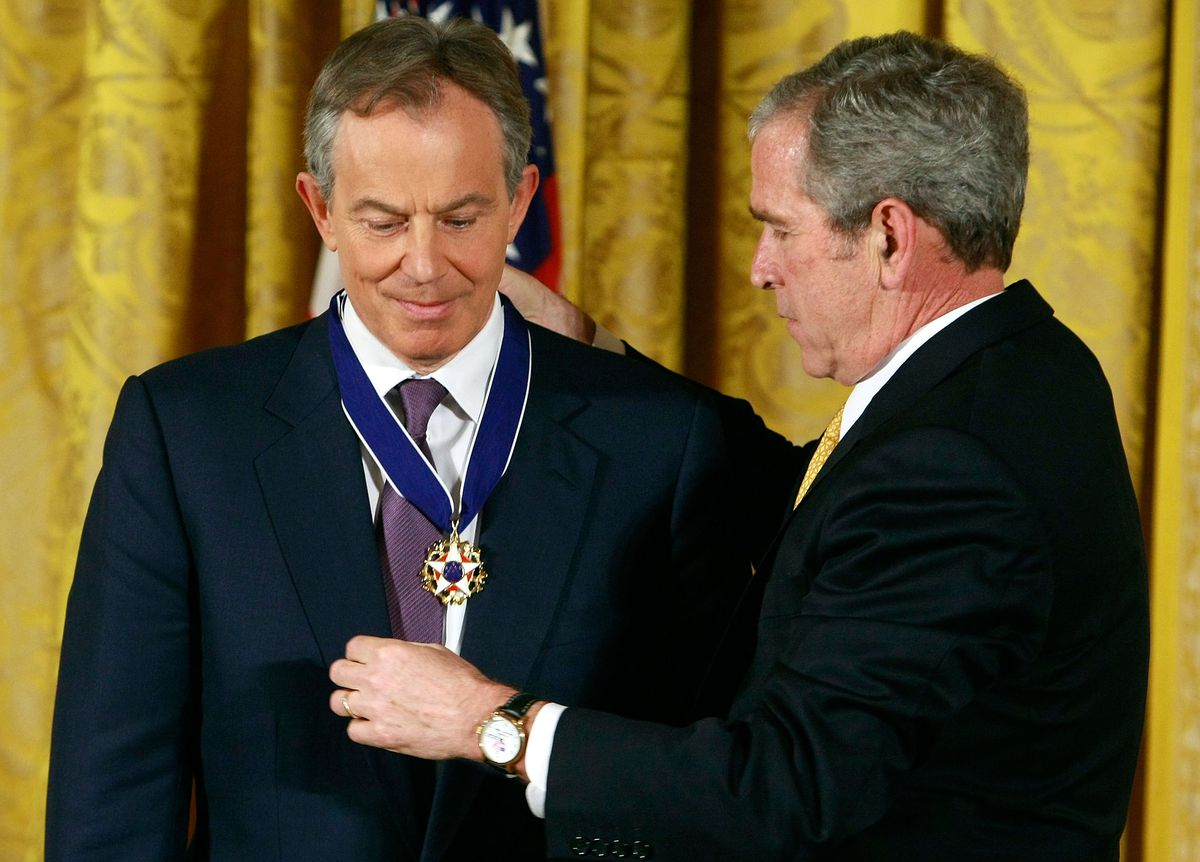 Bush Presents Presidential Medals Of Freedom