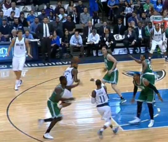 P&R 1 Mavs Celtics