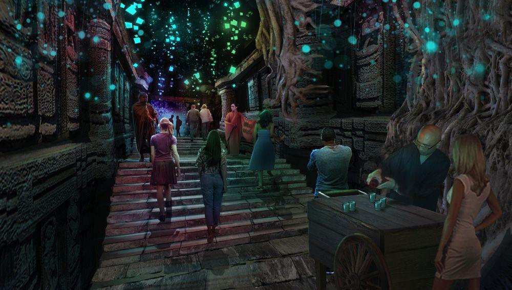 Kind Heaven forest entrance rendering