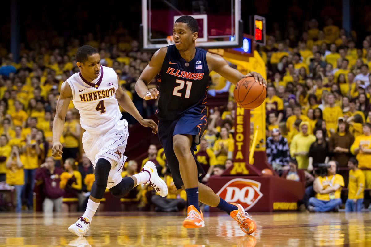 Malcolm invited Basketball Illinois