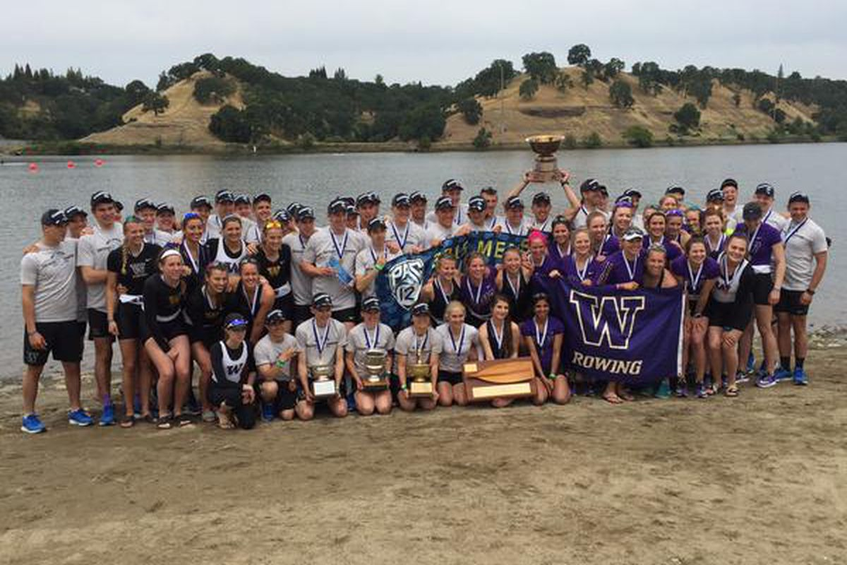 Another dominating day for Washington Crew in the 2015 Pac 12 Championships