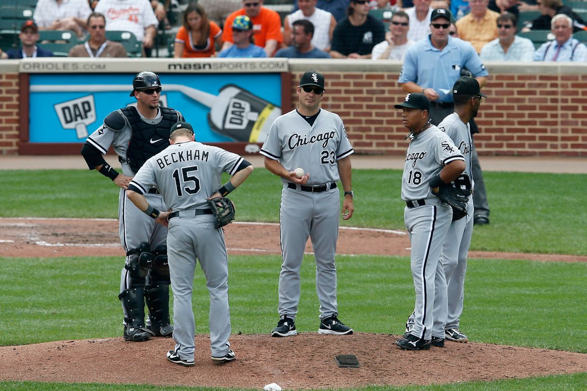 The effective version of Jose Quintana disappeared after 2 2/3 innings.