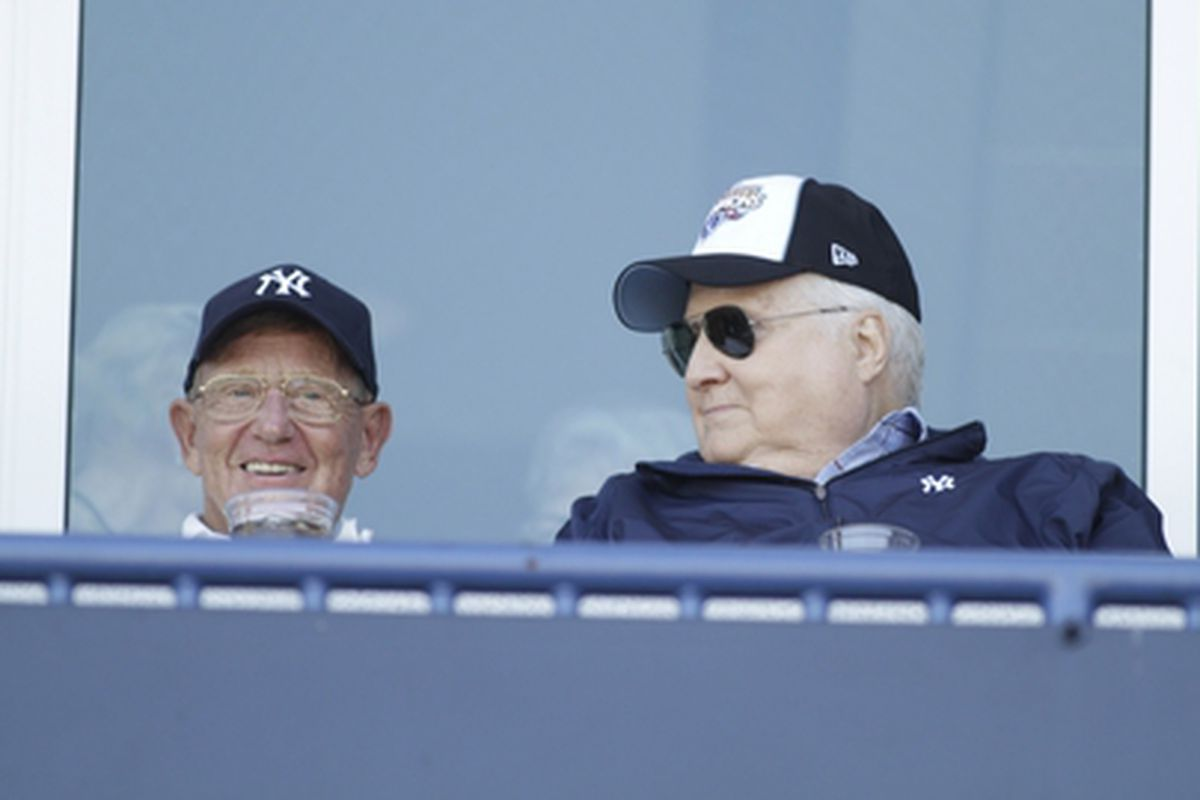 Lou Holtz + the Yankees = ultimate fusion of evil