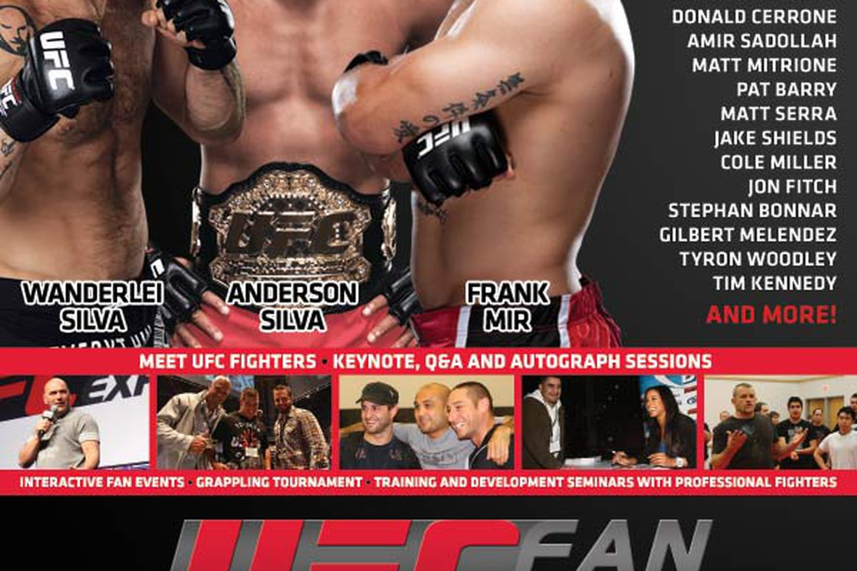 Ufc Autograph Sessions Announced For Houston Fan Expo On Oct 7 8
