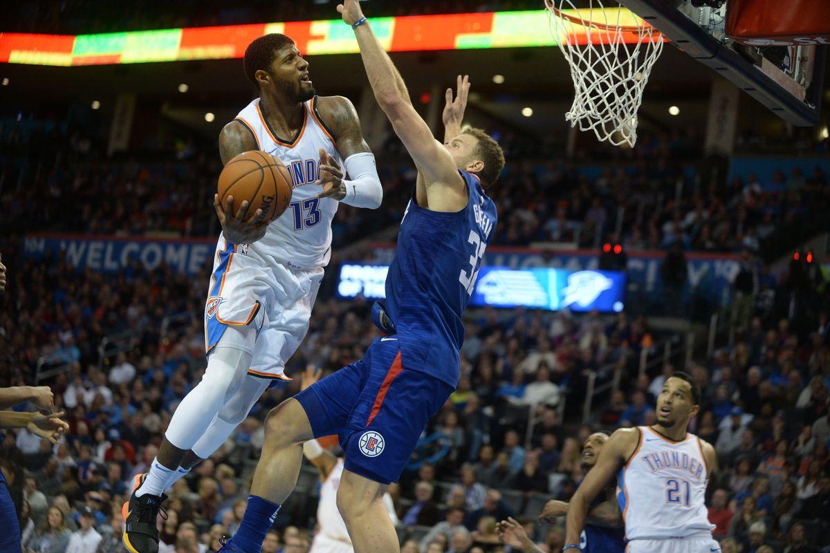 NBA: Los Angeles Clippers at Oklahoma City Thunder