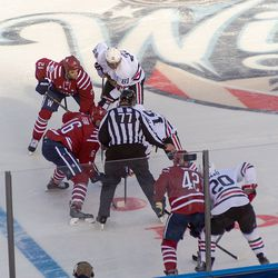 Fehr and Toews Faceoff