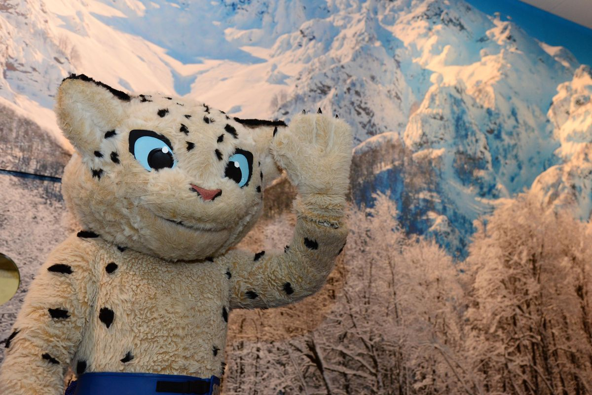 The official Sochi mascot will be in big trouble if he's gay.