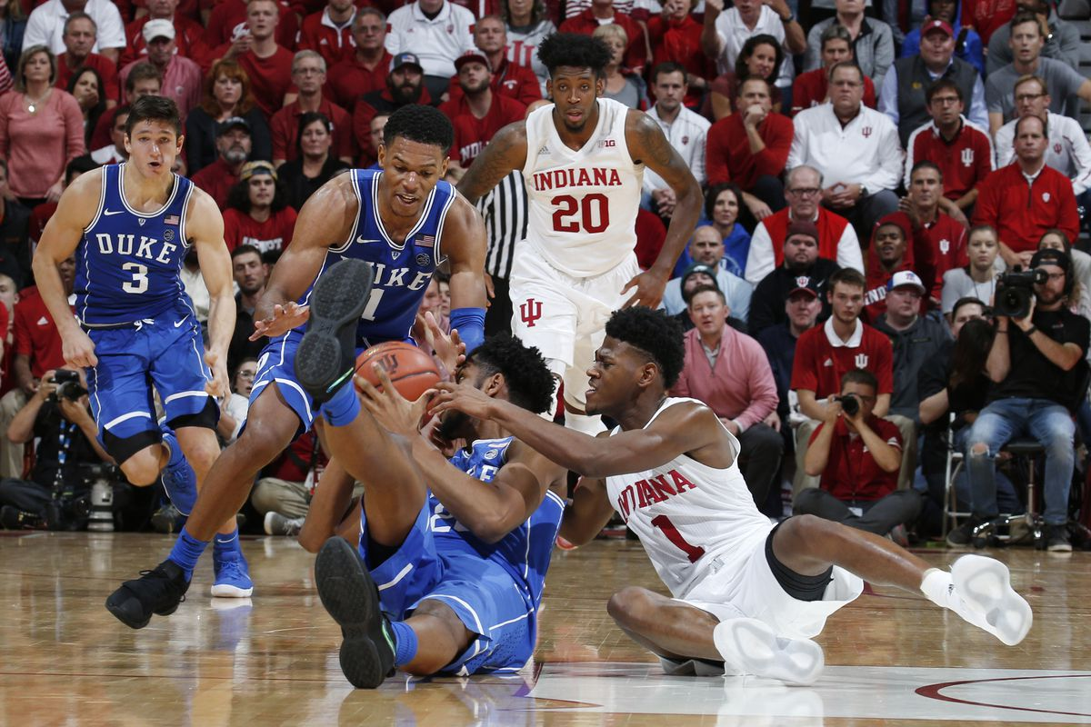 next up - indiana - duke basketball report