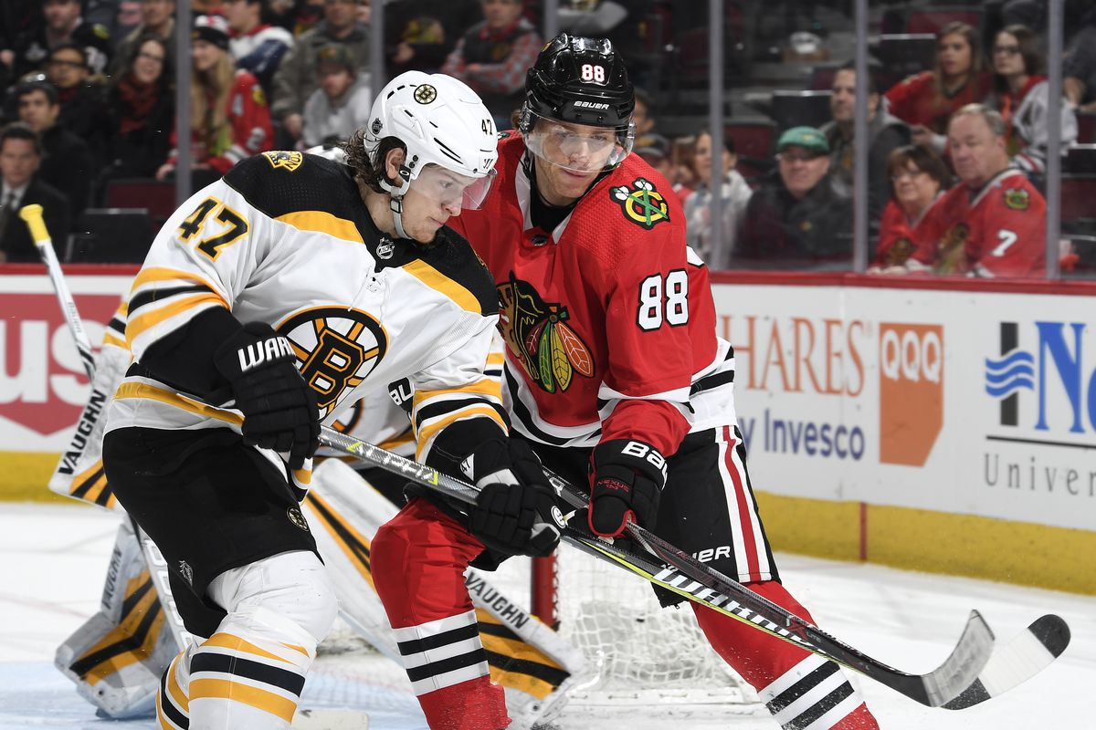 Boston Bruins v Chicago Blackhawks