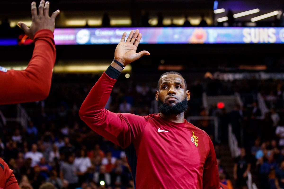 LeBron posts historic line, says he wasn't sending Raptors a message