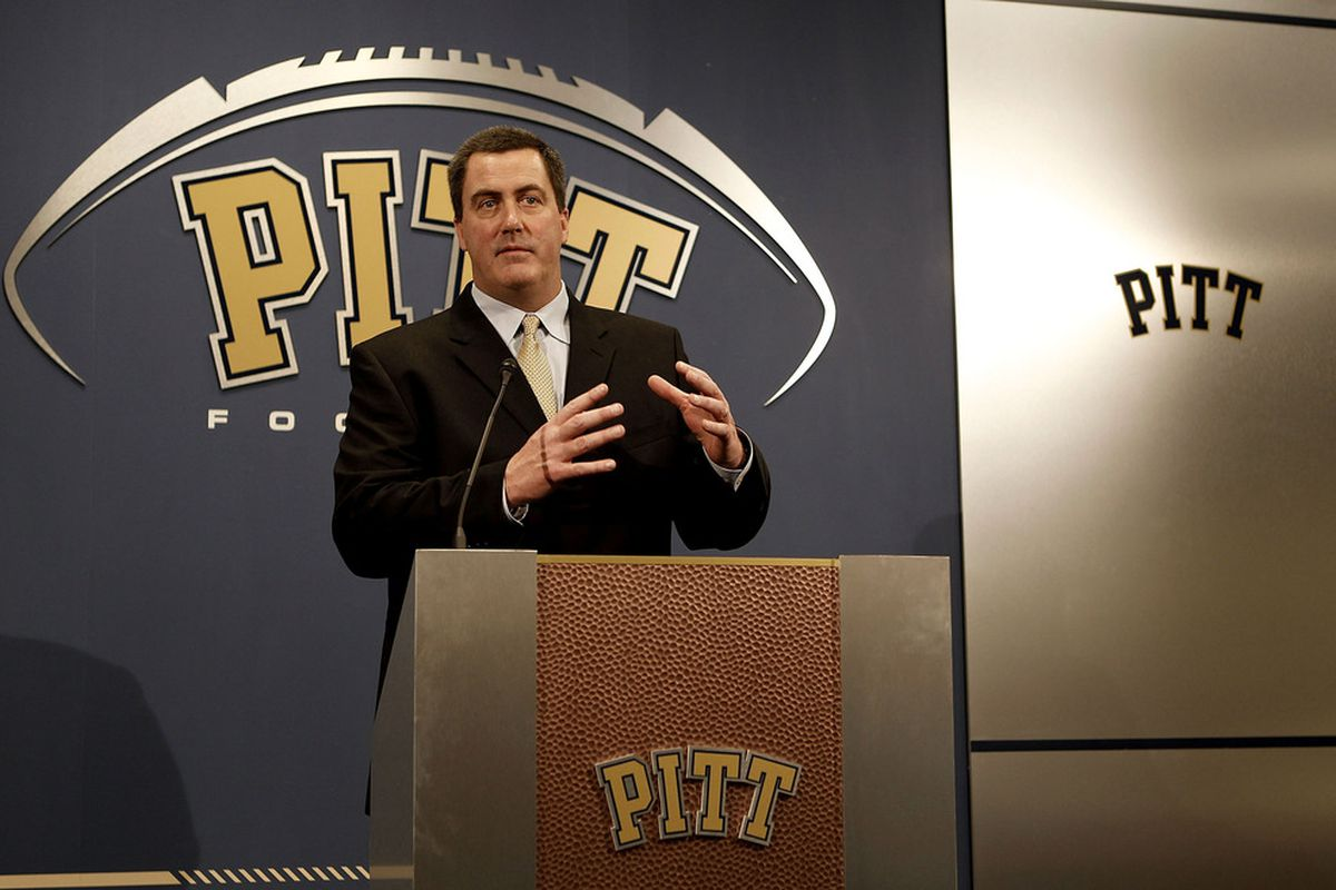 Paul Chryst lost out on a big fish this weekend (Photo by Jared Wickerham/Getty Images)